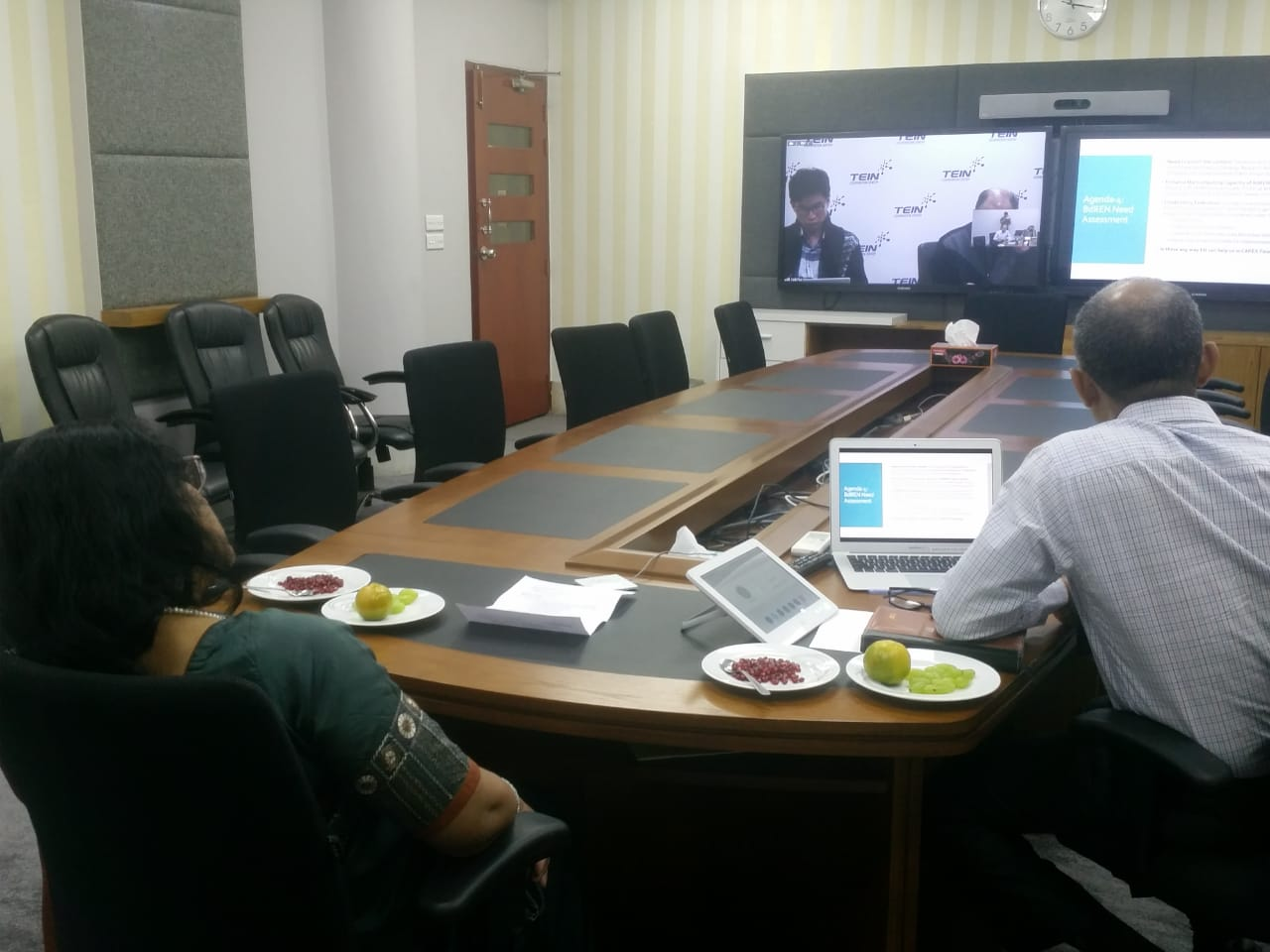 """Bilateral Meeting"" between TEIN*CC and BdREN"