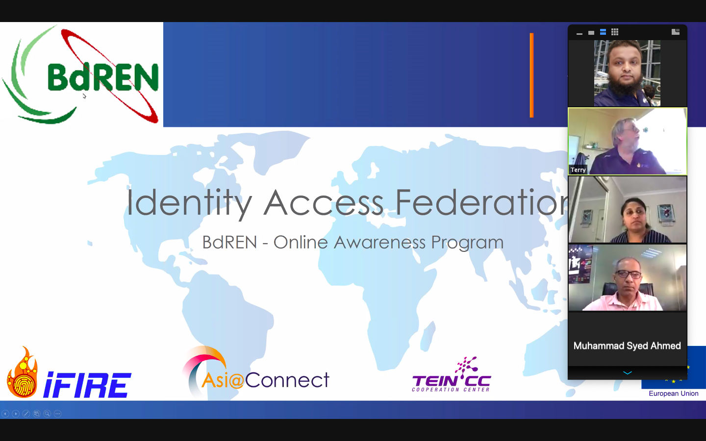 "Online Awareness Program on ""Identity Access Federation"""