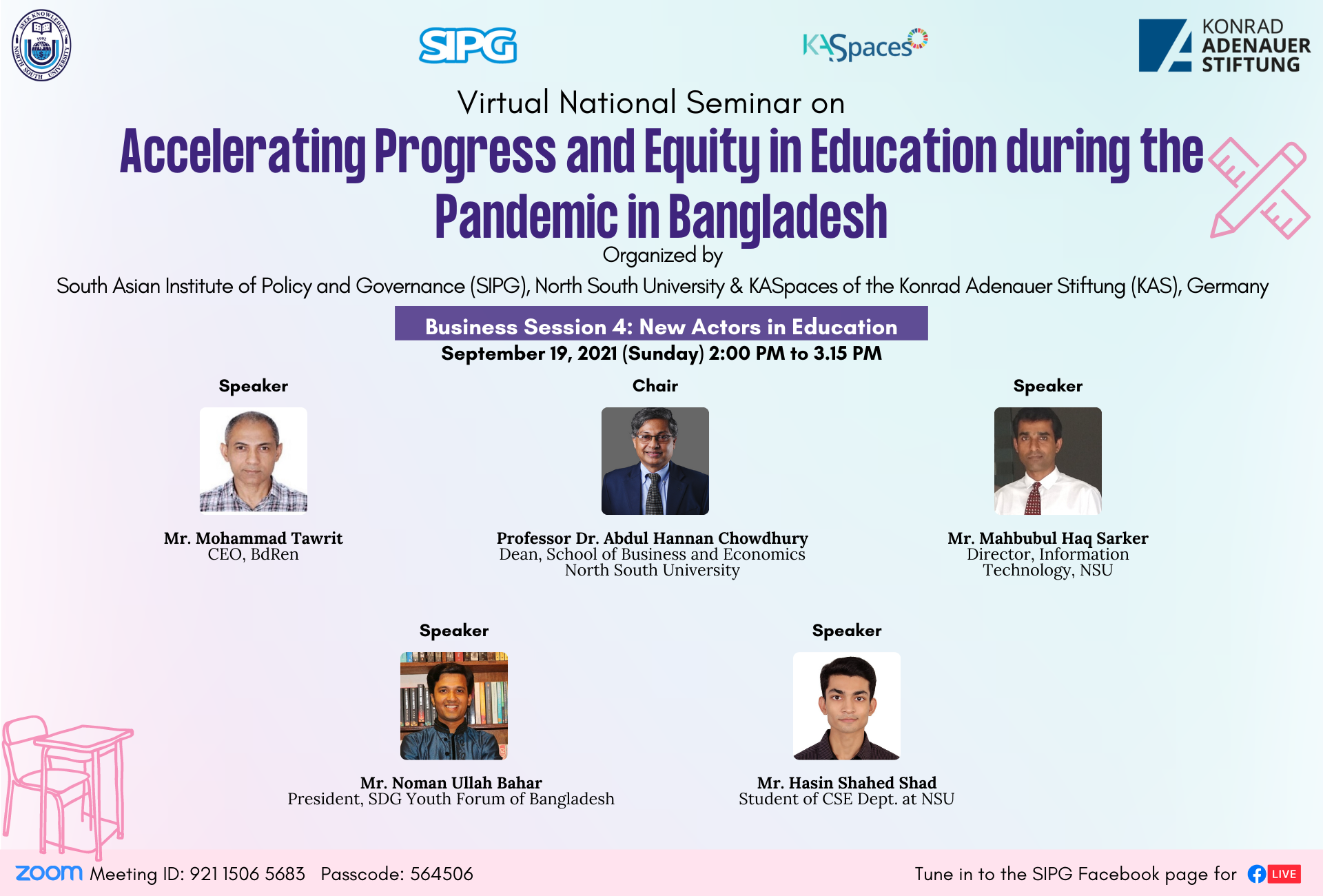 Accelerating Progress and Equity in Education during the Pandemic in Bangladesh